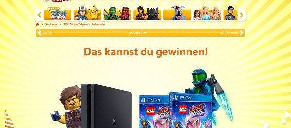 Super RTL Toggo Gewinnspiel Playstation 4 Lego Movie