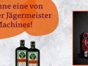 Tegut und Jägermeister Gewinnspiel 4 Tap Machines