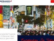 Tokyo Reise Gewinnspiel Airfrance 2019