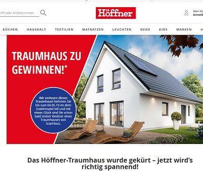 Traumhaus Gewinnspiel Höffner 2. Runde 2019