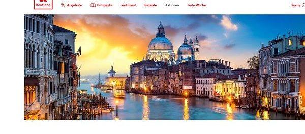 Valentinstag Gewinnspiel Kaufland Venedig Reise gewinnen