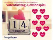 Valentinstag Gewinnspiel berge&meer Steigenberger Gutscheine