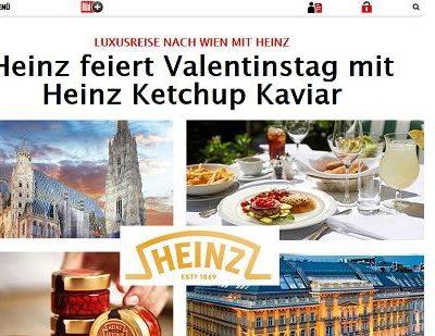 Wien Reise Gewinnspiel Heinz Ketchup und Bild.de