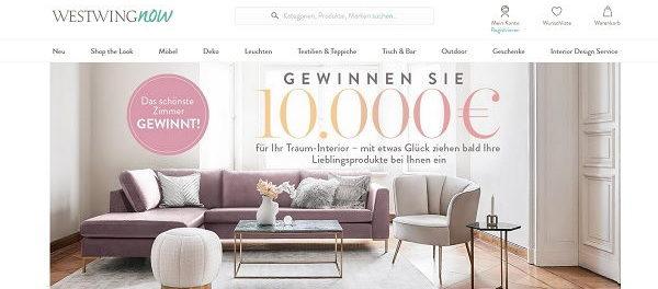10.000 Euro Gewinnspiel Westwing Traum-Interior