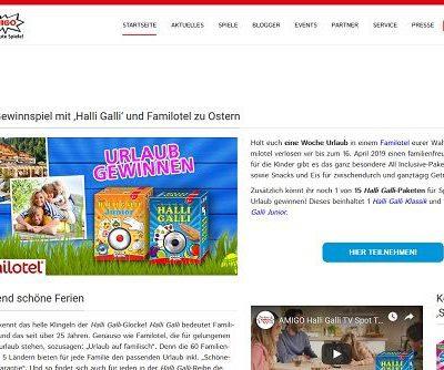 Amigo Spiele Gewinnspiel Familotel Urlaub