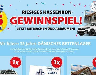 Auto-Gewinnspiel Dänisches Bettenlager VW T-Cross gewinnen