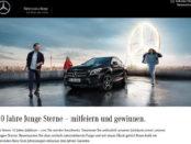 Auto-Gewinnspiel Mercedes Benz GLA Jahreswagen Verlosung