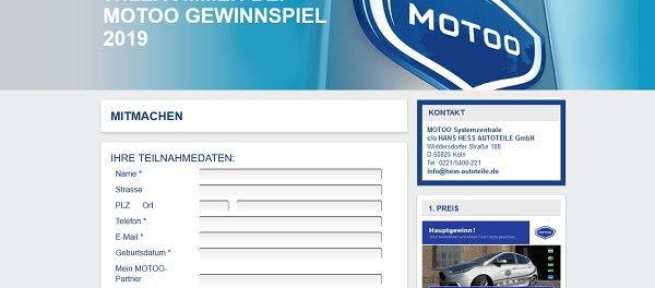 Auto-Gewinnspiel Motoo Ford Fiesta ST Line