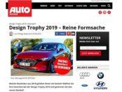 Auto Zeitung Gewinnspiel Mazda3 Skyactive-X Design Trophy 2019