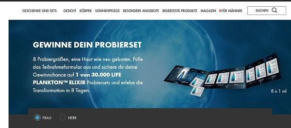 Biotherm Gewinnspiel 30.000
