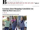 Brigitte Gewinnspiele 5 NKD Shopping-Gutscheine