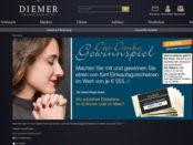 Diemer Schmuck Gewinnspiele 555 Euro Gutscheine
