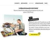 Emmi Caffe Latte Gewinnspiel Joris Sommerparty Konzertreise