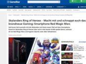 GameStar Gewinnspiel Gamer-Smartphone Red Magic Mars
