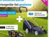 GartenXXL Gewinnspiel Akku-Rasenmäher und Heckenschere