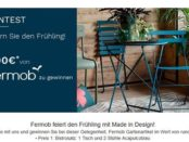 Gartenmöbel Gewinnspiel bei Madeindesign.de
