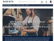 Gewinnspiel Barista Schnupperkurs Wert 2000 Euro bei Babista gewinnen