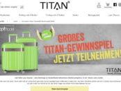 Gewinnspiel Titan Koffer-Shop Spotlight-Flash Koffer-Set