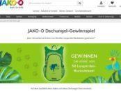Jako-O Gewinnspiel 50 Kinder Leoparden Rucksäcke