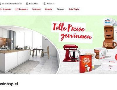 Kaufland Ferrero Ostergewinnspiel Küche und Sachpreise
