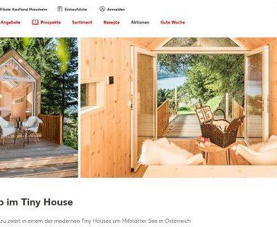 Kaufland Gewinnspiel Tiny Haus Urlaub Österreich