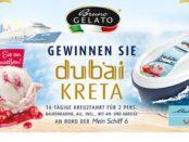 Kreuzfahrt-Reise Gewinnspiel Bruno Gelato Dubai-Kreta