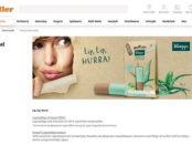 Müller Drogerie Gewinnspiele 50 Kneipp Lippenpflege Sets