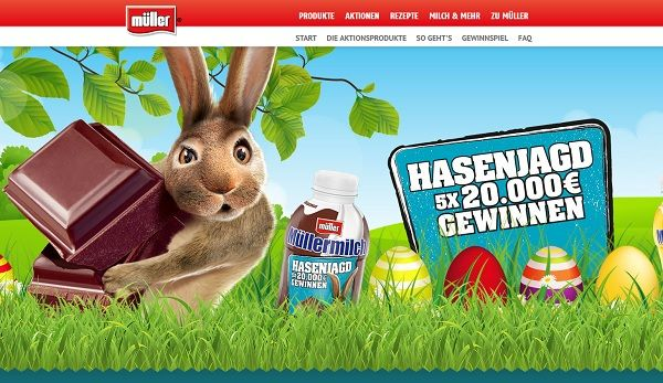 Hasenjagd Müller