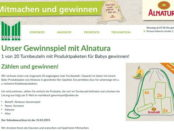 Marktkauf Alnatura Gewinnspiel 20 Baby Produktpakete