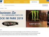 Monster Energy Gewinnspiel real Rock am Park 2019