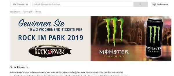 Telekom Rock Im Park Gewinnspiel