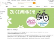 NKD E-Bike Gewinnspiel Fischer Fahrrad