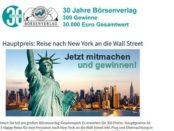 New York Reise Gewinnspiel Börsenverlag