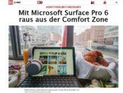 Notebook Gewinnspiel Bild.de Microsoft Surface Pro 6