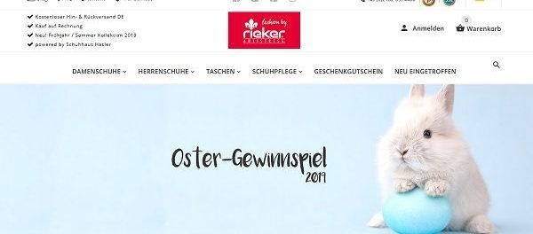 Oster-Gewinnspiel Rieker Schuhe 1 Jahr Schuh Abo gewinnen