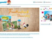 Playmobil Gewinnspiel Bauernhof Urlaub und Spielzeug-Sets