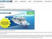 ReifenDirekt Gewinnspiel 2.000 Euro AIDA Reisegutschein
