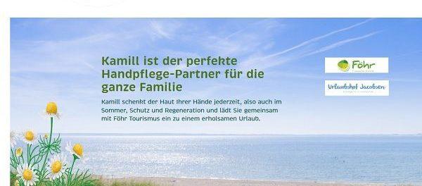 Reise-Gewinnspiel Kamill Handcreme Insel Föhr Urlaub