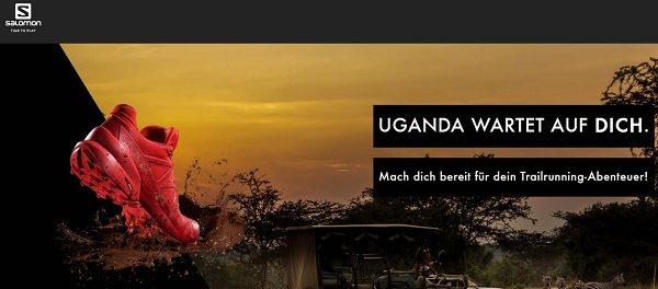 Reise Gewinnspiel Uganda Safari Urlaub Salomon Schuhe