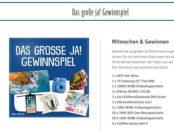 Rewe Ja Eigenmarke Gewinnspiel Reise und Sachpreise