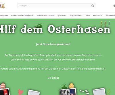 Schrader Oster-Gewinnspiel Gutscheine gewinnen