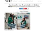 Vogue Gewinnspiel Damen Bomberjacke von Airfield