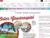 Weltbild Oster-Gewinnspiel 2019 Reisen und Geld gewinnen