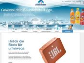 Adelholzener Gewinnspiel 100 JBL Bluetooth Lautsprecher