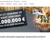 Auto-Gewinnspiel Kaufland Feuerfrei 30 Smart gewinnen