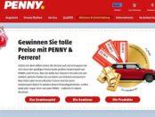 Auto-Gewinnspiel Penny und Ferrero Mini gewinnen