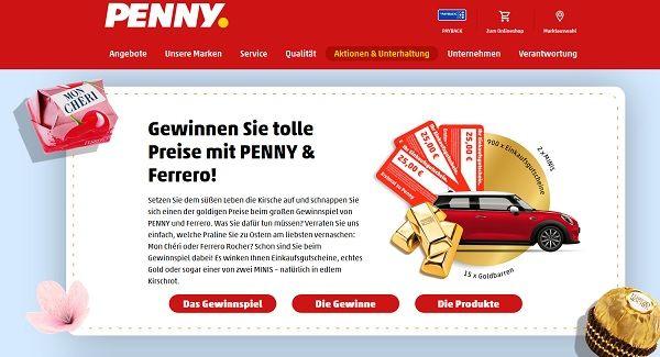 Gewinnspiel Penny