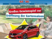 Auto-Gewinnspiel Roller Möbelhäuser Gartensaison 2019