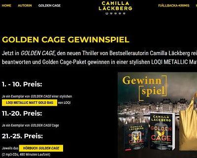 Camilla Läckberg Gewinnspiel Bücher und Taschen