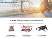 Concordia Motorrad Gewinnspiel Urlaubsgeld und Gutscheine